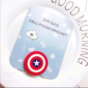 Other - Brand New Captain America Phone Holder